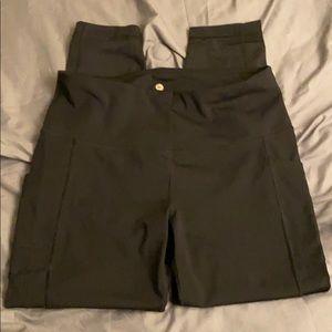Full length black leggings